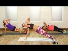 This high-intensity workout is anything but boring — time flies by as you jump, twist, and lift. Celebrity trainer and Barry's Bootcamp instructor Astrid