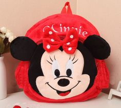Disney Red Minnie Mouse Backpack for Little Girls Minnie Red Plus Minnie Mouse Backpack, Red Minnie Mouse, Red Purses, Purses And Bags, Kids Backpacks, Cute Disney, Backpack Purse, Raising Kids, Little Girls