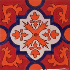Mexican Talavera tile: alambra Art : More At FOSTERGINGER @ Pinterest