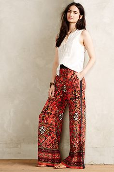 Zala Wide-Legs #anthropologie #anthrofave