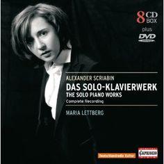 Scriabin: Das Solo-Klavierwerk (The Solo Piano Works) / Maria Lettberg [CD]