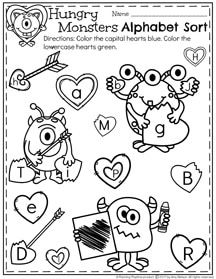 February Preschool Worksheets | Number tracing, Worksheets and Math