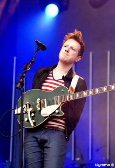 Alex Trimble - singer and guitarist of Two Door Cinema Club