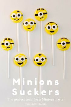 Get inspired with this creative & fun minions party! You'll love the minions sucker recipe, DIY minions paper lanterns, minions finger puppet craft & more! Diy Minion Birthday Party, Diy Party, Paper Lantern Making, Paper Lanterns, Minion Cookies, Homemade Face Paints, Puppet Crafts, Minions Despicable Me, Body Painting