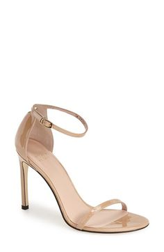 Stuart Weitzman Stuart Weitzman 'Nudistsong' Ankle Strap Sandal (Women) available at #Nordstrom
