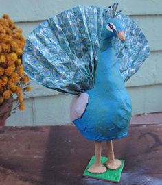 Peacock~ Piñata Deluxe Edition Surprise Ball by WatermelonParty on Etsy