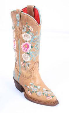 Macie Bean - Cute little boots for adorable little girls!