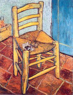 Vincent Van Gogh / Van Gogh's Chair, 1888-1889