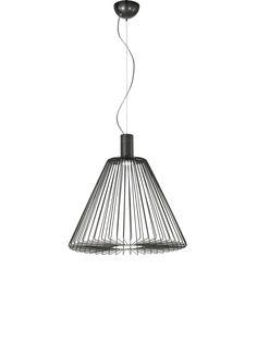 x high, Lamp: 1 x max Brand: MM Lampadari Minimalist Style, Cage, Counter, Ceiling Lights, Lighting, Pendant, Metal, Home Decor, Minimal Style