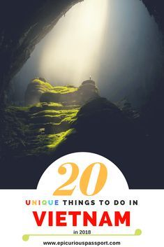 Vietnam on your mind? These 20 unique things are a must do while visiting Vietnam. They will make your vacation a memorable one and for the right reasons. Vietnam Travel Guide, Asia Travel, Travel Plane, Spain Travel, Hanoi, Koh Lanta Thailand, Vietnam Vacation, Vietnam Voyage, Visit Vietnam