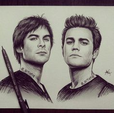 vampire diaries drawings tumblr - Google Search