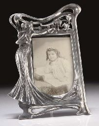 WMF  A SILVERED METAL PHOTOGRAPH FRAME