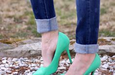 Nearly a quarter of women turn to high heels or jeans when they want to show their self-confident side. #tjmaxx #maxxexpression