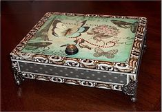 Altered CIgar Box 1.  **This lady does some of the nicest boxes** kw
