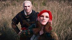 Witcher Art, The Witcher 3, Geralt Of Rivia, Ciri, Triss Merigold, Hail Storm, Wild Hunt, Game Art, Jon Snow