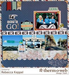 Layout: Let's Go **Therm O Web**