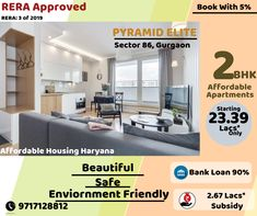 Pyramid Elite Sector Gurgaon, affordable housing in gurgaon, New Projects in Pataudi Road, Saransh realtors is one of the best real-estate consultant. Affordable Housing, Apartments For Sale, Public Transport, 5 Years, Real Estate, How To Plan, Book, Easy, Free
