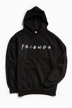 Shop Friends Hoodie Sweatshirt at Urban Outfitters today. We carry all the latest styles, colors and brands for you to choose from right here. Sweatshirt Outfit, Friends Sweatshirt, Hoodie Jacket, Gucci Hoodie, Friends Shirts, Grey Hoodie, Hoodie Sweatshirts, Hoody, Fleece Hoodie