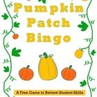Very Busy Teachers' Pumpkin Patch Bingo is a free game to practice sight words, blends, digraphs, long vowels, short vowels, vocabulary, math facts...  http://www.teacherspayteachers.com/Product/Pumpkin-Patch-Bingo-Free-Game-to-Review-Students-Skills-851727