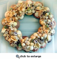 Prosperity Seashell Wreath