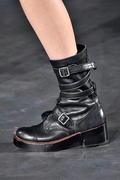 Trendspotting, New York Fashion Week: Combat Boots
