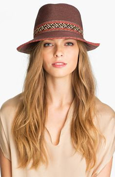 Eric Javits Fedora available at #Nordstrom  So cute and did you know they are made to pack? Also check out the amazing color combos!