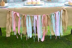 Horse, Burlap, Pony, Floral, Pink, Teal, cowgirl, third, shabby chic Birthday Party Ideas | Photo 5 of 39 | Catch My Party