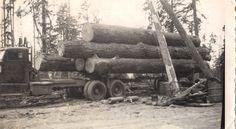 Grandpa's old log truck