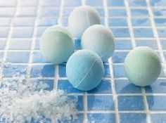 Homemade Bath Bomb Balls