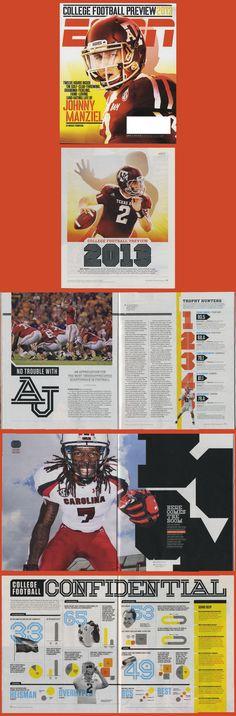 The August ESPN Issue Photo illustration, http://www.josueevilla.com Typography: http://www.non-format.com