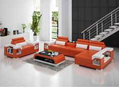 The Vaultair-3SC leather sofa is a modern and stylish touch to any living space. Its upgraded features such as designer armrests that can be transformed into a bookshelf, two tone colour contrast, wide seating, and adjustable headrests.