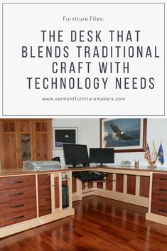 Custom Furniture Design: Desk And Return From Craft To Install