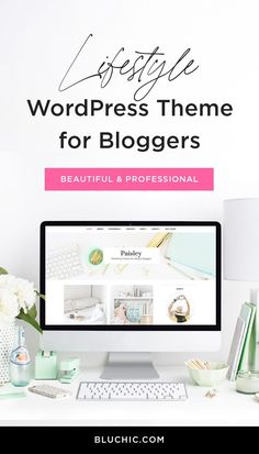 Paisley's beautiful design will add a classic chic style to your blog. Blog posts can be displayed in two columns in a grid layout, so your visitors can easily see your content. Make a bold first impression for your visitors with this stylish theme.