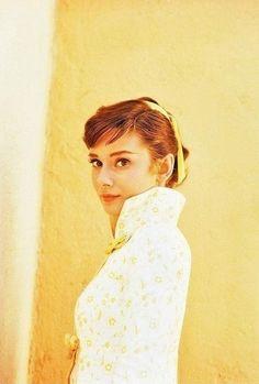 Audrey Hepburn (1950s) By Milton Greene.