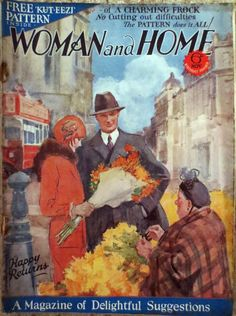 Woman and Home magazine from November 1928