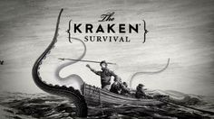 Illustrator: Steven Noble and friends created pure TV magic with The Kraken Survival by Adam Gault. How do you survive a Kraken attack?