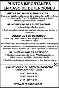 Via @AlfredoCAngel   Por favor, Leer y DIFUNDIR   !!Que tienes que hacer si eres DETENIDO!!                         pic.twitter.com/xa6U9zOiD2