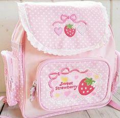 Harajuku Fashion, Kawaii Fashion, Lolita Fashion, Cute Fashion, Kawaii Bags, Kawaii Clothes, Pink Aesthetic, Aesthetic Clothes, Japanese Backpack