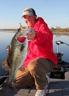Bass fishing in Palatka, FL with my friend and B.A.S.S. pro Cliff Prince.