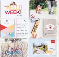 Project Life Week 1 by marivi at @studio_calico