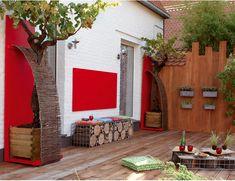 Como decorar a área externa da casa