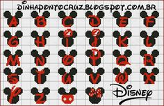 Caras con letras Disney Stitch, Cross Stitch Letters, Cross Stitch Baby, Cross Stitching, Cross Stitch Embroidery, Beading Patterns, Embroidery Patterns, Plastic Canvas Letters, Disney Cross Stitch Patterns