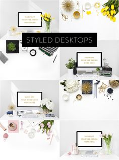 Styled desktop stock images by Shay Cochrane for creatives, web designers and small business owners.  www.shaycochrane.com