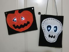 Halloween e-textiles #decoration #sewing #LED