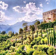 Trauttmansdorff Castle, Italy @travelandleisure