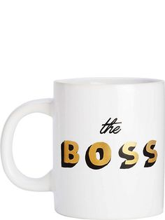 BANDOHot stuff the boss ceramic mug. For mum.