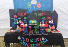 Está procurando ideias para uma festa PJ Masks incrível? Então não perca essas inspirações lindas de convites, doces, lembrancinhas, bolos e decorações!
