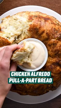 Chicken Alfredo, Alfredo Sauce, Think Food, Love Food, Fun Baking Recipes, Cooking Recipes, Appetizer Recipes, Appetizers, Gula