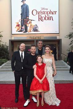 Cast: Hayley joined director Marc Forster, actors Ewan McGregor, Brad Garrett, and Bronte Carmichael on the red carpet