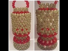 طريقة عمل فانوس رمضان من الخرز موديل مدور جديد من تصميمي Krispie Treats, Rice Krispies, Egypt, Beads, Desserts, Food, Beading, Tailgate Desserts, Deserts